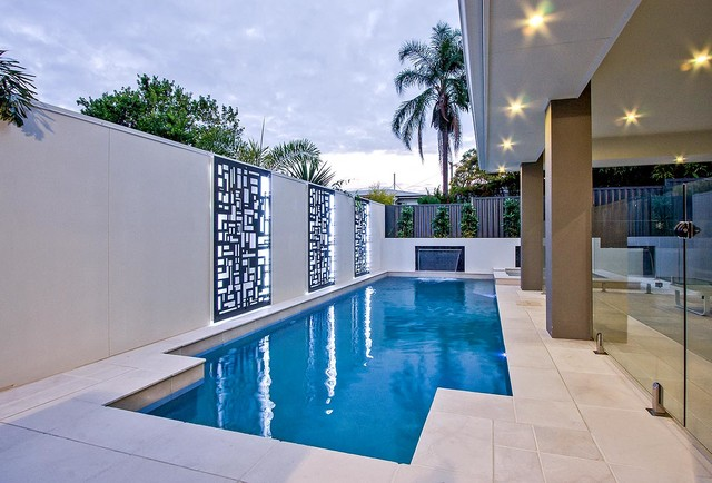 Cannon Hill Plunge Pool Modern Pool Brisbane By Majestic Pools Amp Landscapes