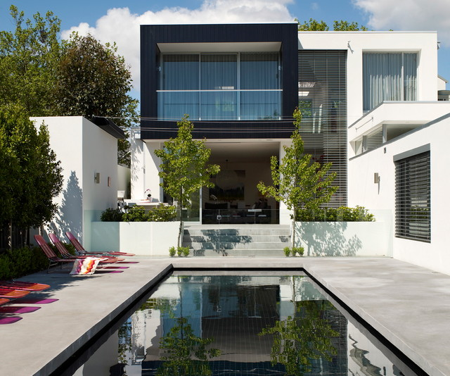 canterbury house contemporary pool melbourne by. Black Bedroom Furniture Sets. Home Design Ideas