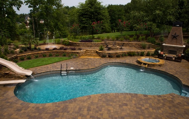 Canton, GA Renovation traditional-pool