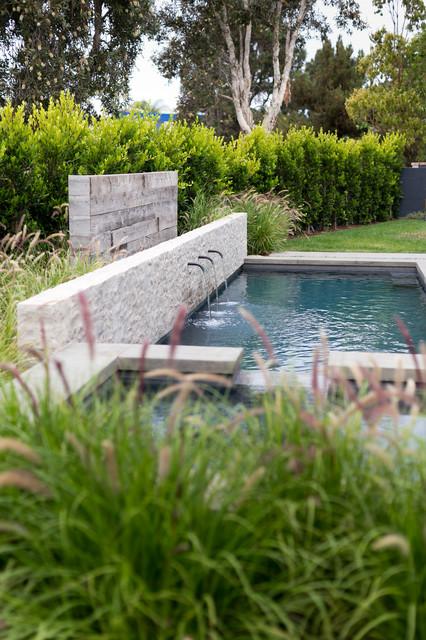 Cape Danbury Transitional Pool Orange County By