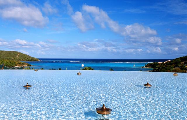 Caribbean Island tropical-pool