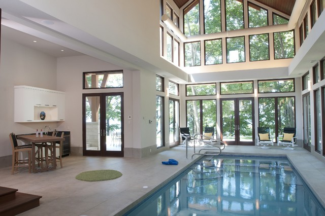 Indoor Pool contemporary-pool