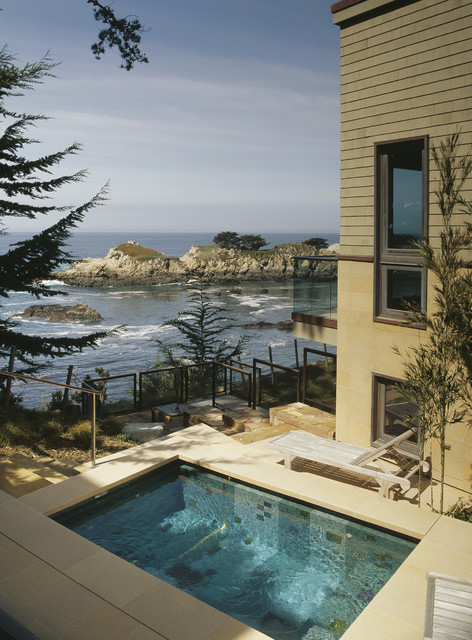 Carmel Highlands contemporary landscape