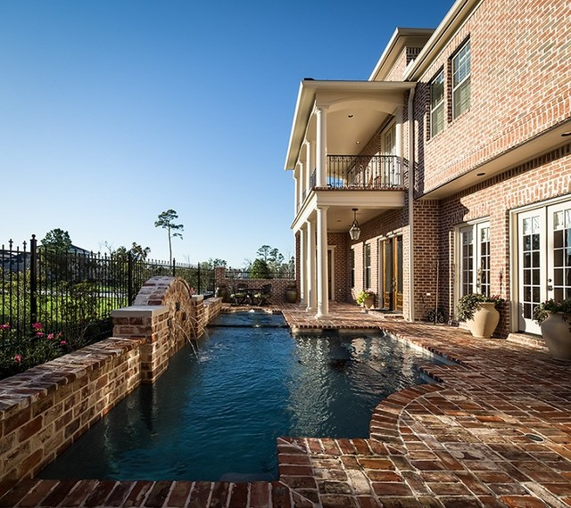 Carruthers residence traditional-pool