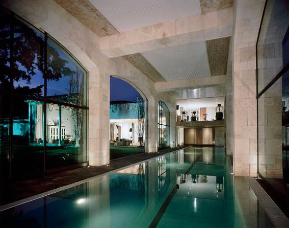 Casa Del Bosque contemporary-pool
