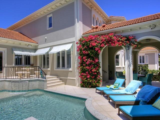 Casey Key Beach House Mediterranean Pool