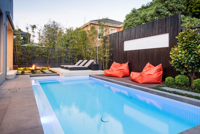 Harcourt Avenue Project contemporary-pool