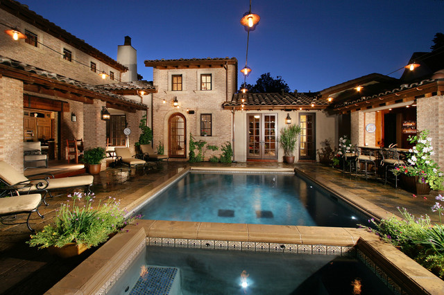 Celebrity Custom Homes Mediterranean Pool Denver on Sater Home Designs Living Rooms Images