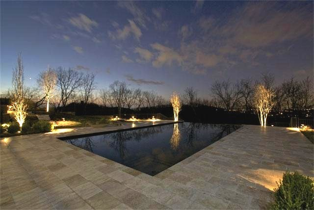 Celebrity homes modern pool nashville by mitchell for Nashville tn celebrity homes