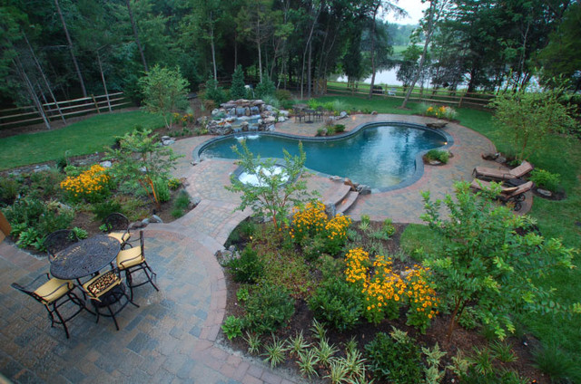 Centreville Residence eclectic-pool