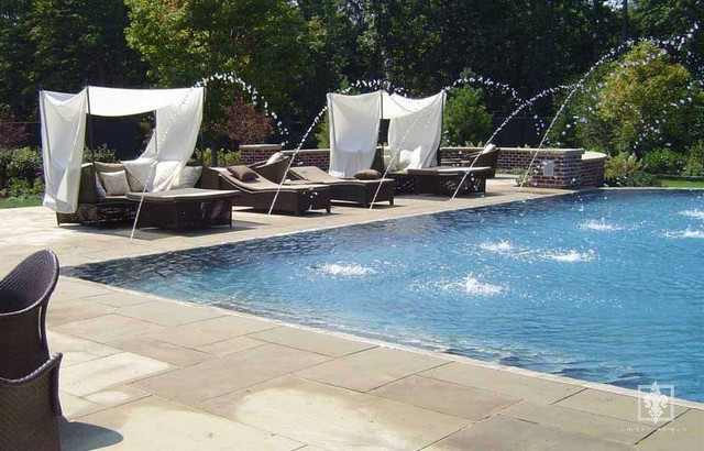 Chagrin Falls Residence traditional-pool