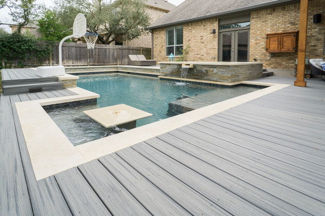 Circle C Ranch Deck amp Pool Trex Contemporary Austin By