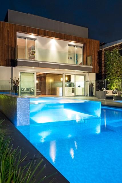 Clarke contemporary-pool