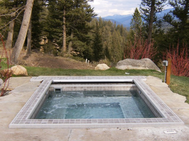 Classic Carolina In Ground Hot Tub Rustic Pool Other
