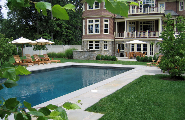 Classic Design Traditional Pool New York By