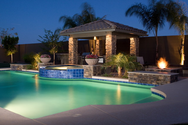 Classic Pool Amp Spa Ramada Outdoor Kitchen Amp More In