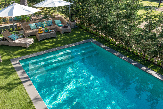 classic pool design traditional pool melbourne by
