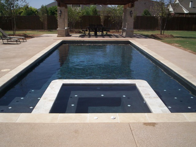 Classic Pools Projects Modern pool