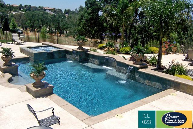 Classic Swimming Pool Designs - Mediterranean - Swimming Pool & Hot ...