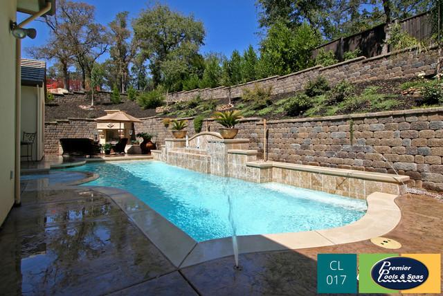 Classic Swimming Pool Designs Mediterranean Pool Other By Premier Pools Spas Of San