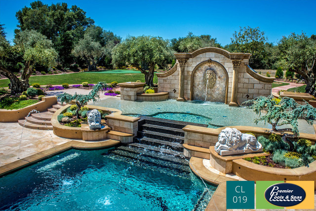 Classic Swimming Pool Designs - Mediterranean - Pool - Austin - by ...