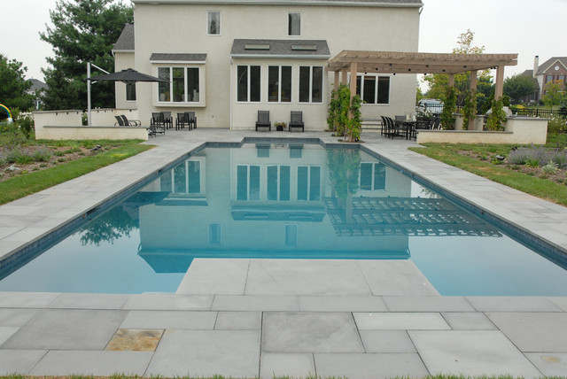 Clean and Contemporary contemporary-pool