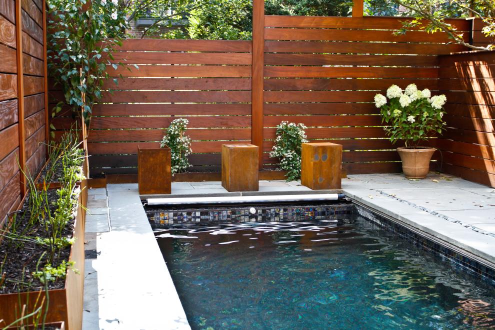 Minimalist pool photo in New York