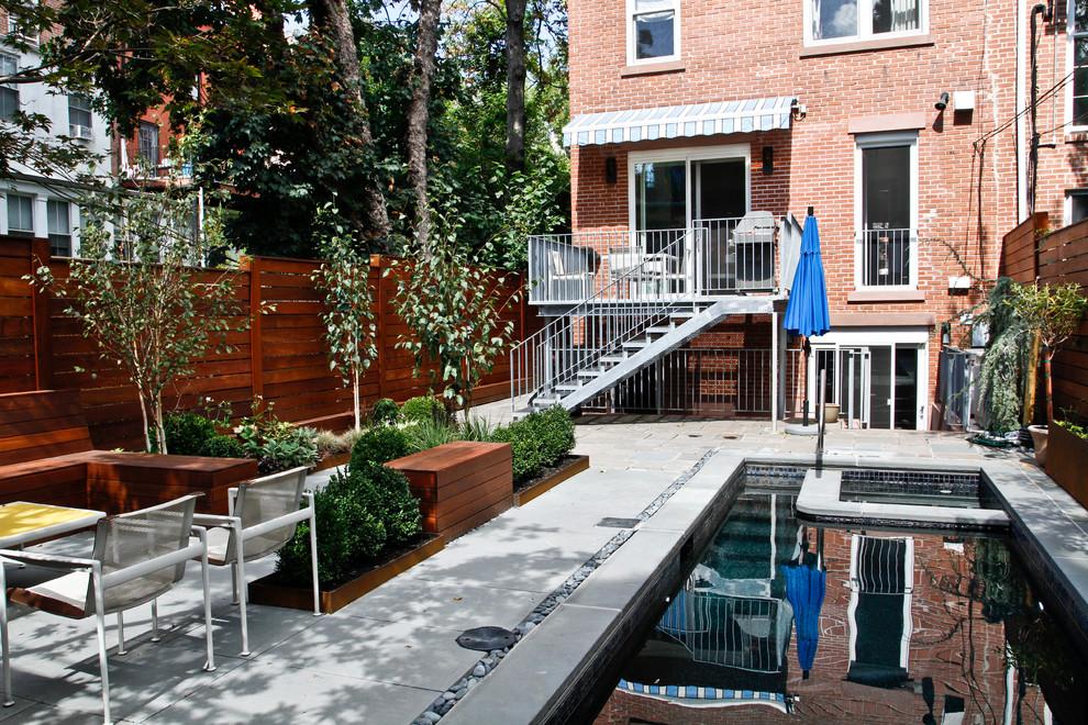 Pool - 1950s pool idea in New York