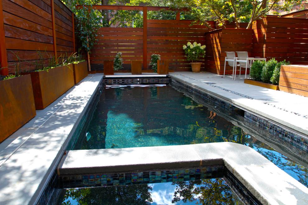 Pool - modern pool idea in New York