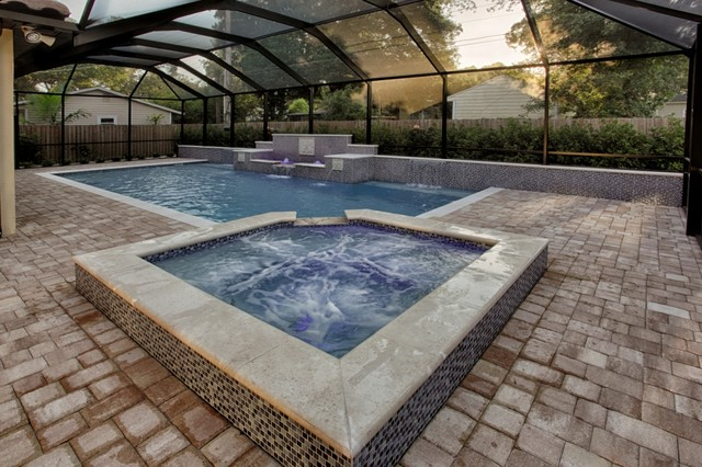 Contemporary Pool Tampa Coberly Residence contemporary-pool
