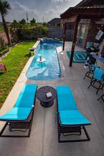 Cocktail Pool Cypress Tx Tropical Pool Houston