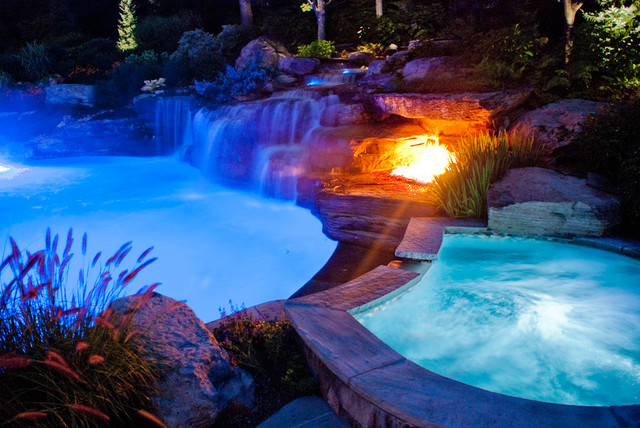 Color LED Swimming Pool Lights Mahwah, Bergen County NJ Tropical Pool