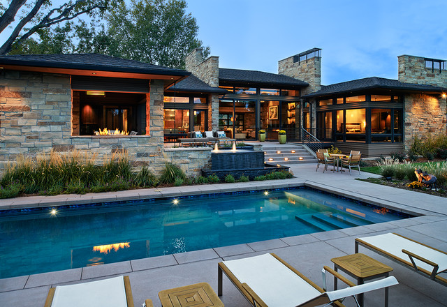 Colorado Contemporary Contemporary Pool Denver By