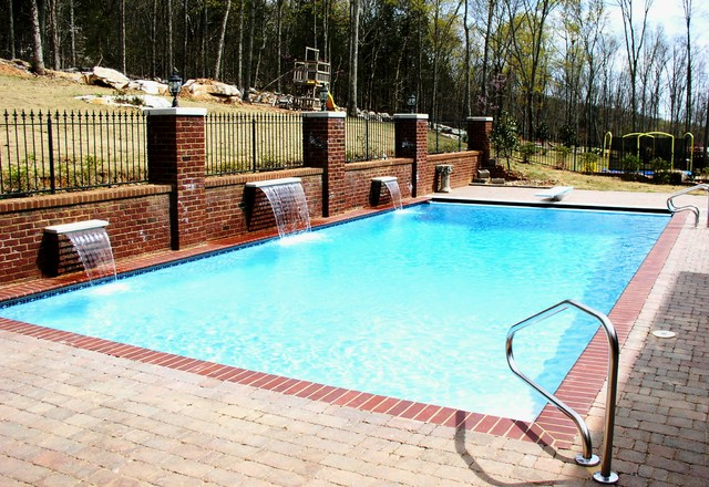 Completed pool projects traditional-pool