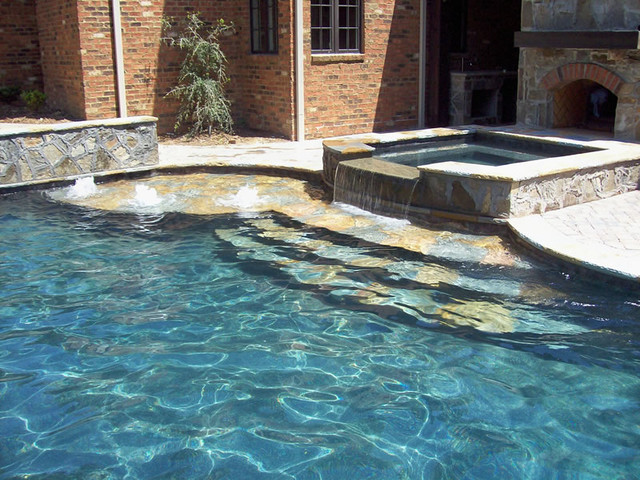 Completed Projects traditional-pool