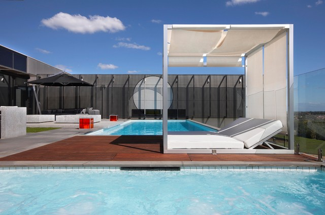 Amazing Inspiration For A Contemporary Rectangular Pool Remodel In Melbourne