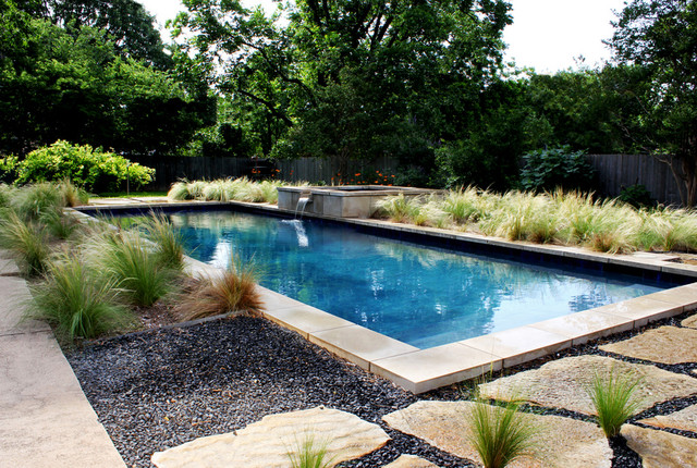 Contemporary Geometric Pool Fort Worth Tx Contemporary Pool Dallas By Water Wizard