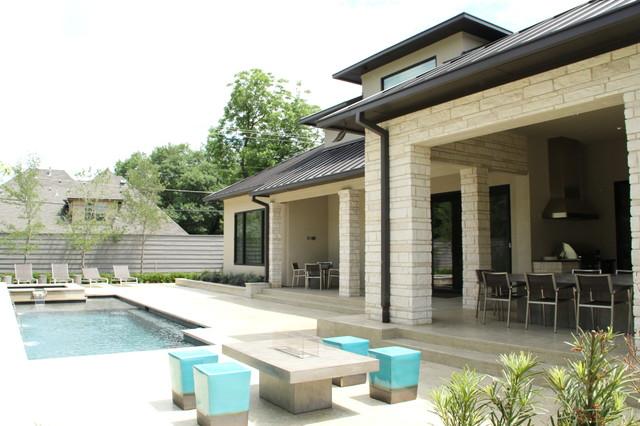 Contemporary House In Dallas Tx