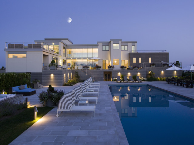 Contemporary Houses contemporary pool