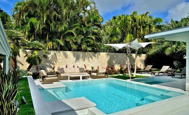 Contemporary Key West contemporary-pool
