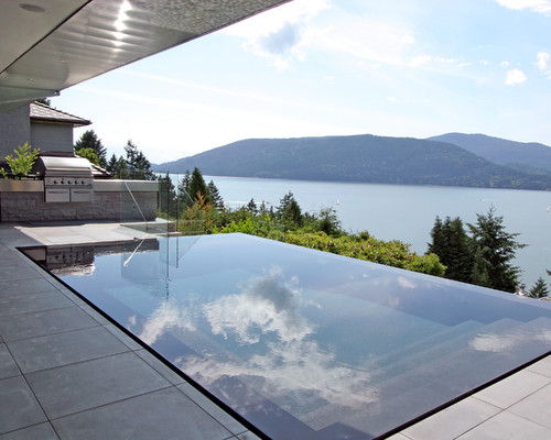 West vancouver s coolest infinity pools for Pool design vancouver