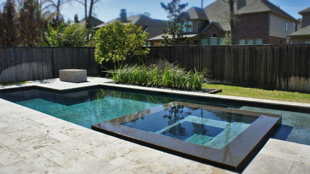 Contemporary Pool The Woodlands