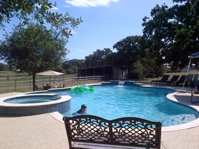 Contemporary Ranch Style By Cali Pools Of Texas