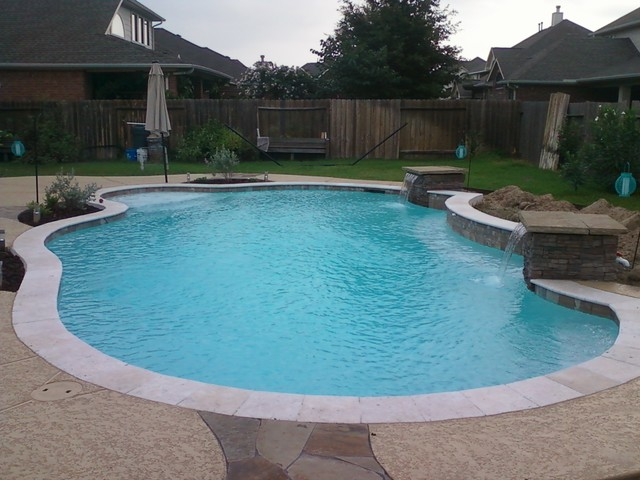 Cool Pools - Traditional - Pool - houston - by Pool-Creations