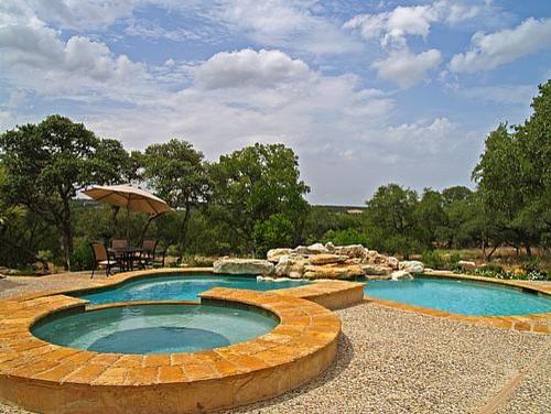 Cordillera Ranch - Tuscan Hill Country Home mediterranean-pool