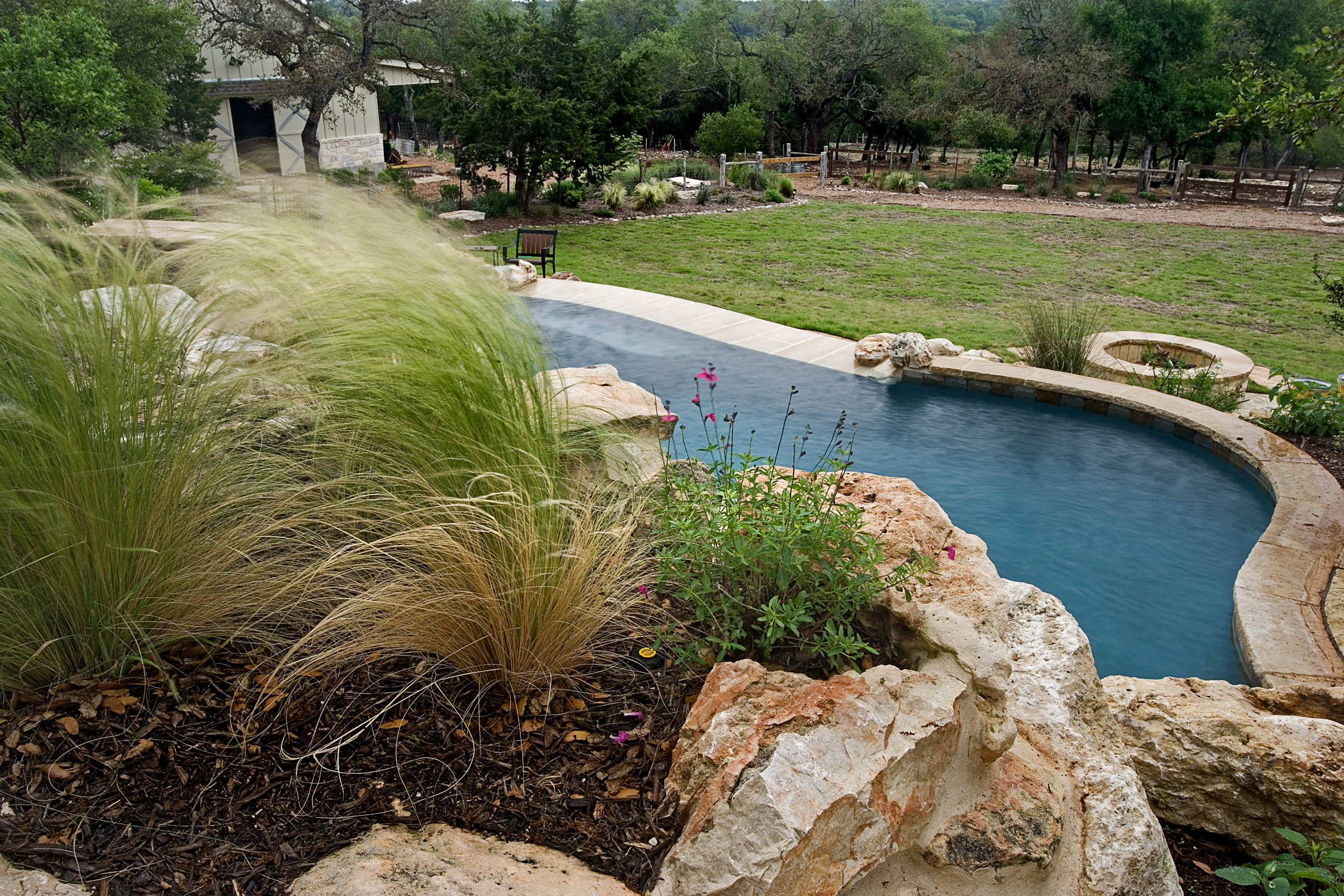Cordillera Ranch Vanishing Edge Pool/Spa/Outdoor Living/Landscape