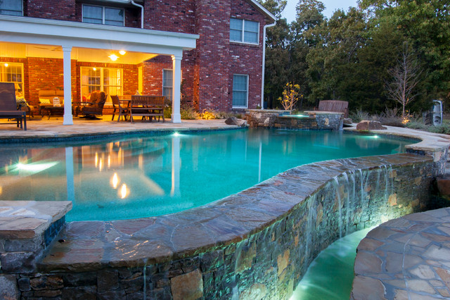 Country Oasis - Farmhouse - Pool - Other - by DRM Design ... - photo#22
