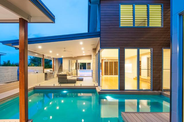 Courageous Place House contemporary-exterior