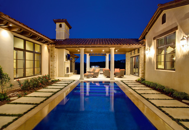 5700 Spanish oaks mediterranean pool