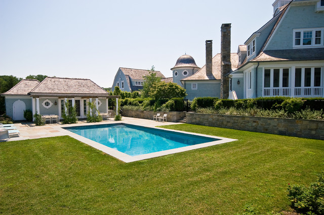 Cove Neck Pool And Spa Traditional Pool New York